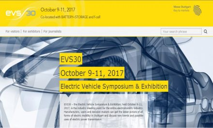 EVS30 –  The Electric Vehicle Symposium & Exhibition 2017