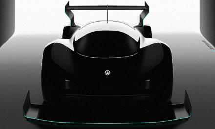 Así será el I.D. R Pikes Peak, el coche eléctrico de Volkswagen que buscará la gloria en Colorado.