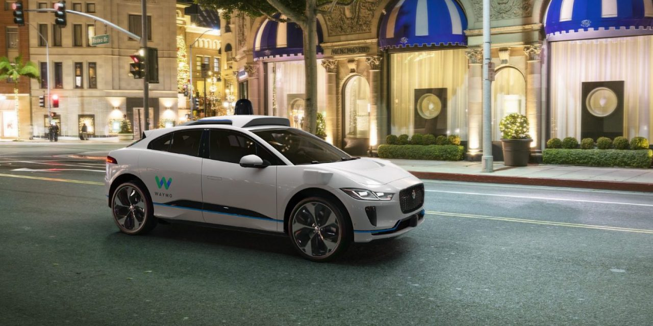 Waymo tendrá una flota de hasta 20.000 Jaguar I-Pace autónomos en los próximos años