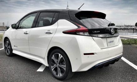 Nissan Leaf 2019: 350 km con 60 kWh y nuevo motor