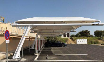 Tesla añade un nuevo supercharger en Almaraz