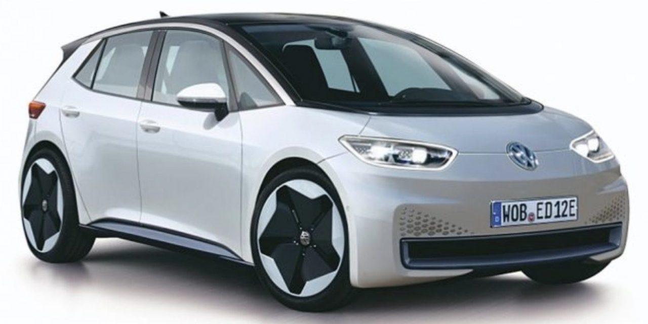 Se filtra la primera imagen del Volkswagen ID de producción