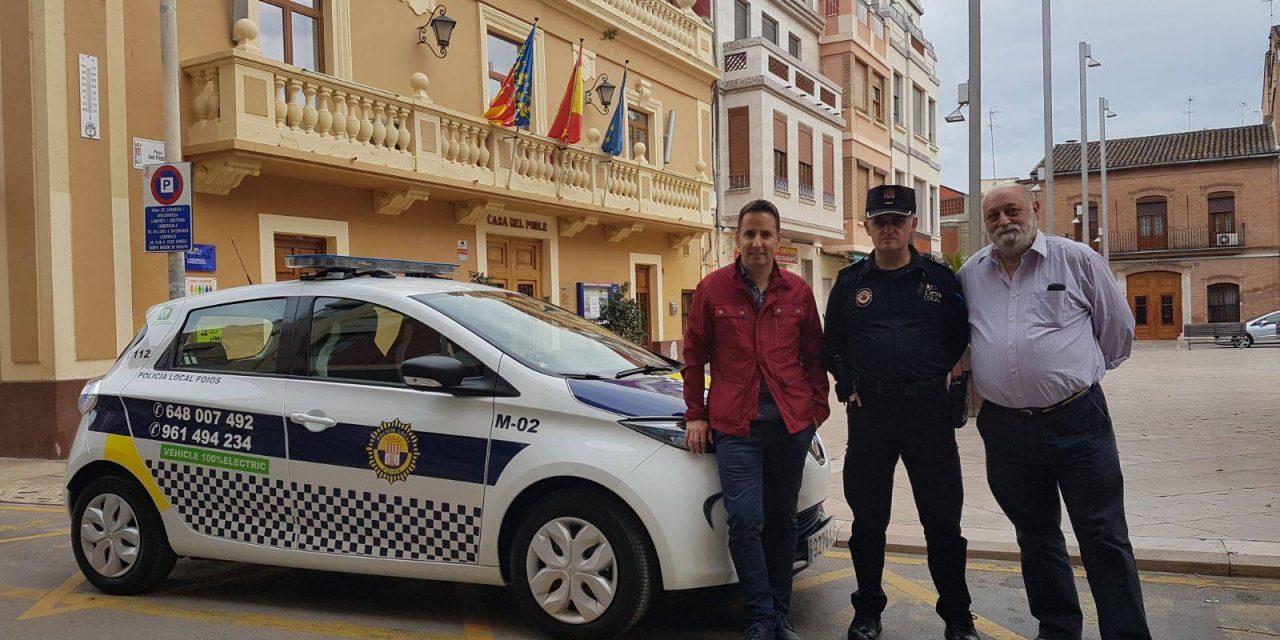 Foios ya cuenta con su primer coche 100% eléctrico, un Renault Zoe