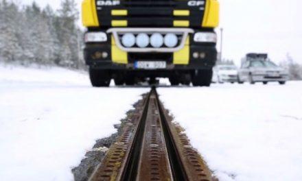 La carretera scalextric de Suecia