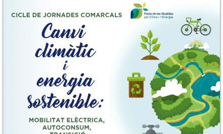 Jornadas comarcales sobre cambio climático y energía sostenible – Actualización fechas