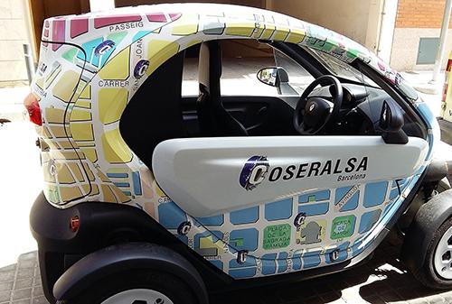 Una flota 100% de vehículos eléctricos, la apuesta por la sostenibilidad