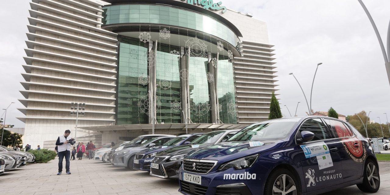 Cerca de 50 equipos han tomado esta tarde la salida de la quinta edición del Eco Rallye de la Comunitat Valenciana
