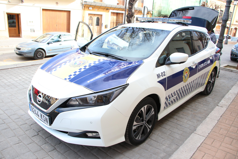 Nissan-Leaf-Policia-Local-Godella