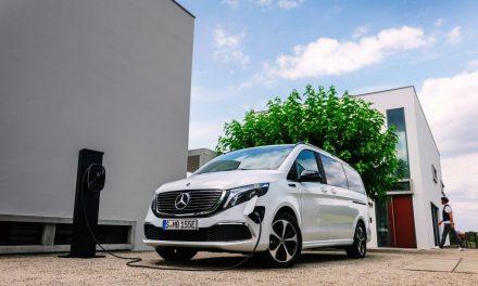 El nuevo monovolumen totalmente eléctrico de Mercedes-Benz