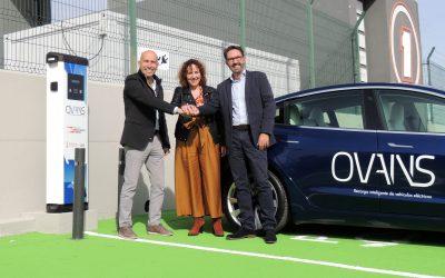 OVANS instala puntos de recarga para Moto GP