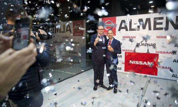 Nissan Almenar gana su tercer Nissan Global Award como mejor concesionario Nissan en España