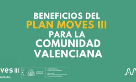 Beneficios del Plan Moves III para la Comunidad Valenciana