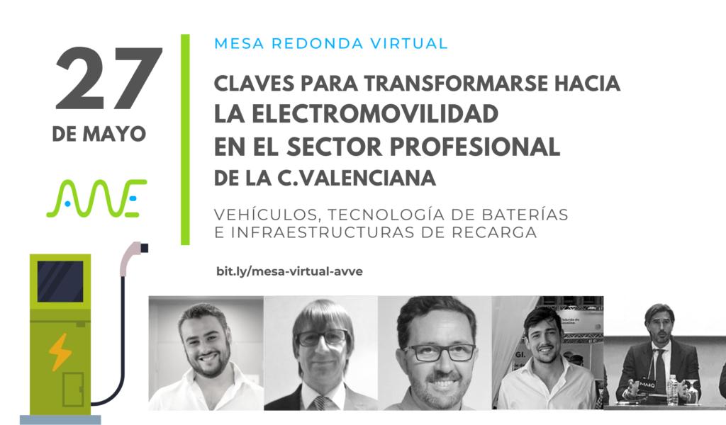 electromovilidad sector profesional mesa redonda